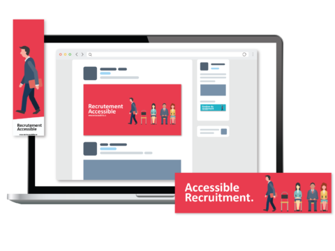 Get Accessible Social Media Banner