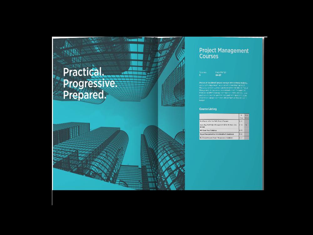 Layout Design CMC Annual Print Catalog